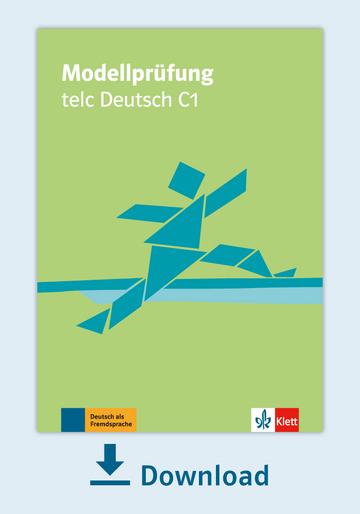 Modellprüfung Telc Deutsch C1 Pdf Mit Audio Dateien Klett Sprachen