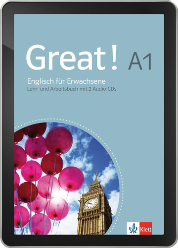 Cover Great! A1 - Interaktive Tabletversion NP00850158801 Englisch