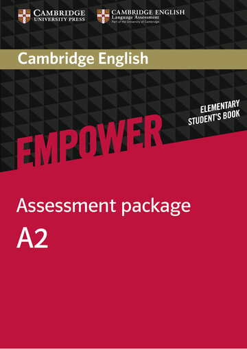 Cover Cambridge English Empower A2 - Digital package NP00854037001 Englisch