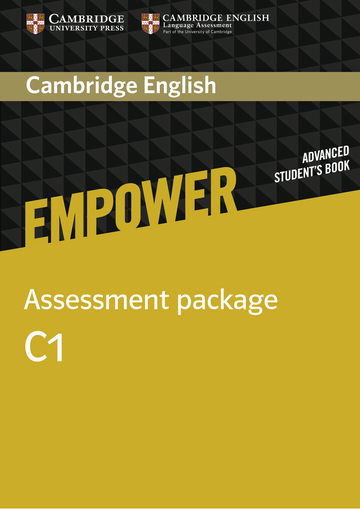Cover Cambridge English Empower C1 - Digital package NP00854040801 Englisch