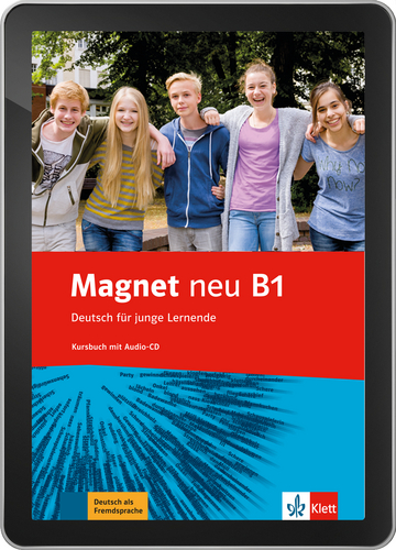 Cover Magnet neu B1 - Interaktive Tabletversion NP00867607601 Deutsch als Fremdsprache (DaF)