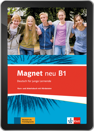 Cover Magnet neu B1 - Interaktive Tabletversion NP00867607901 Deutsch als Fremdsprache (DaF)