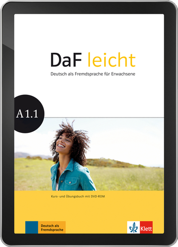 Cover DaF leicht A1.1 - Interaktive Tabletversion NP00867626601 Deutsch als Fremdsprache (DaF)