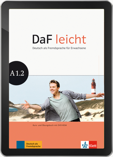 Cover DaF leicht A1.2 - Interaktive Tabletversion NP00867626701 Deutsch als Fremdsprache (DaF)