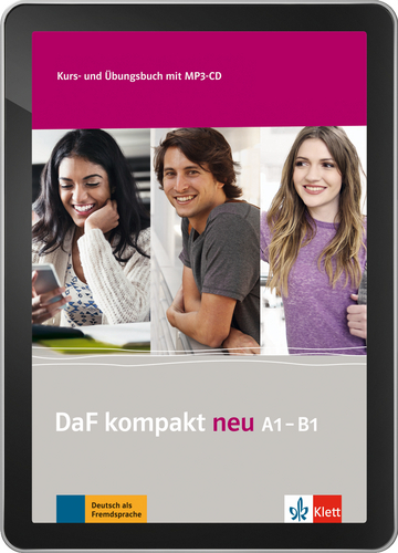 Cover DaF kompakt neu A1 - B1 - Interaktive Tabletversion NP00867630001 Deutsch als Fremdsprache (DaF)