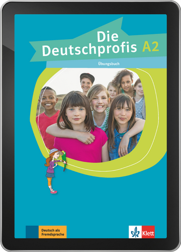 Cover Die Deutschprofis A2 - Interaktive Tabletversion NP00867646901 Deutsch als Fremdsprache (DaF)