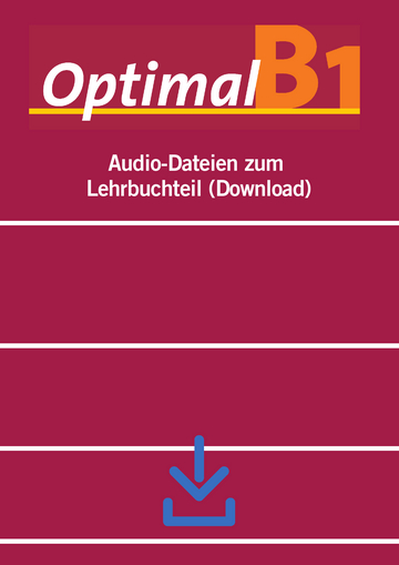 Cover Optimal B1 NP01160617101 Deutsch als Fremdsprache (DaF)