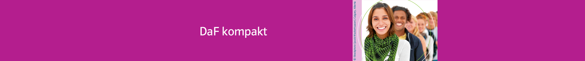DaF kompakt | Lehrwerk | Deutsch als Fremdsprache (DaF) | Klett Sprachen